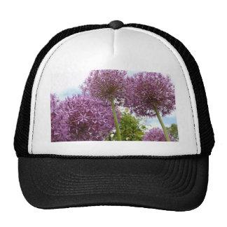 Allium Flower Mesh Hats
