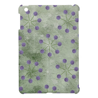 ALLIUM FLOWER PATTERN iPad MINI COVER