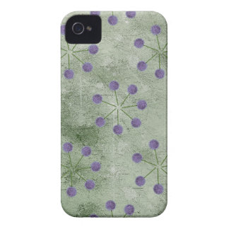 ALLIUM FLOWER PATTERN iPhone 4 Case-Mate CASE