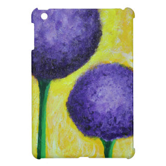 allium purple flower case for the iPad mini