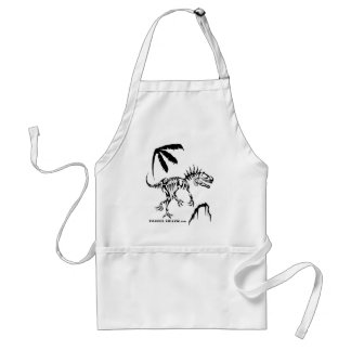 Allosaurus by Fossil Shack Adult Apron