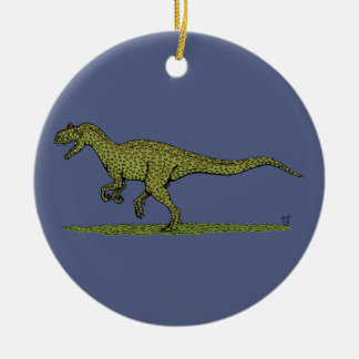 Allosaurus Ceramic Ornament