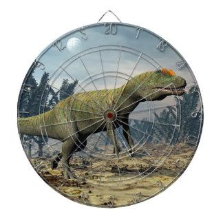 Allosaurus dinosaur - 3D render Dartboard
