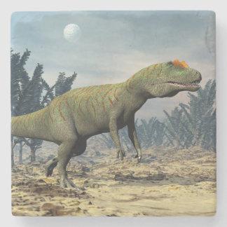 Allosaurus dinosaur - 3D render Stone Coaster
