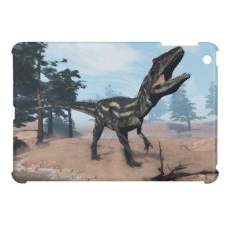 Allosaurus dinosaur roaring - 3D render iPad Mini Covers