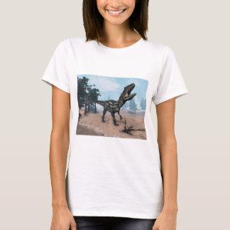 Allosaurus dinosaur roaring - 3D render T-Shirt