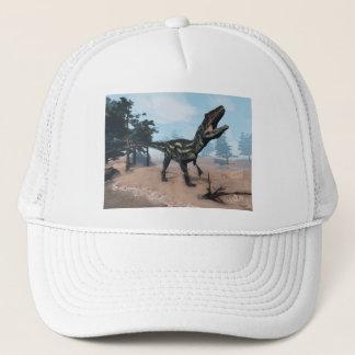 Allosaurus dinosaur roaring - 3D render Trucker Hat