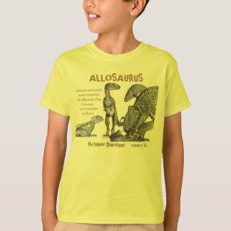 Allosaurus My Inner Dinosaur Kids Shirt Greg Paul
