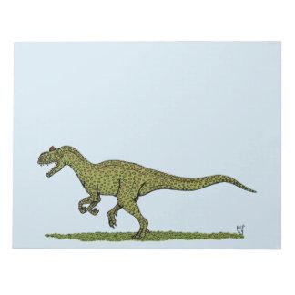 Allosaurus Notepad