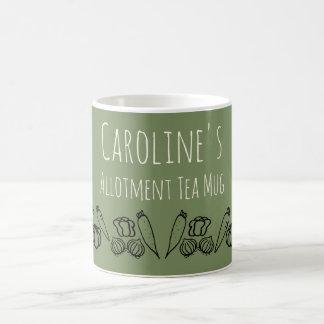 Allotment Tea Mug Personalised