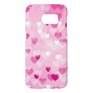 Allover hearts,pink