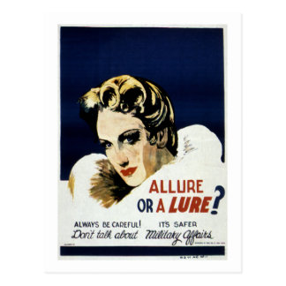 Allure or a Lure Postcards