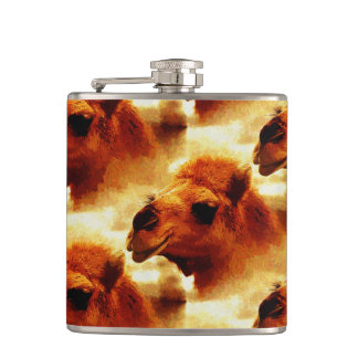 Alluring Camel Face Flask