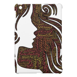 Alluring lady cover for the iPad mini