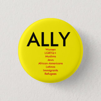 Ally 3 Cm Round Badge