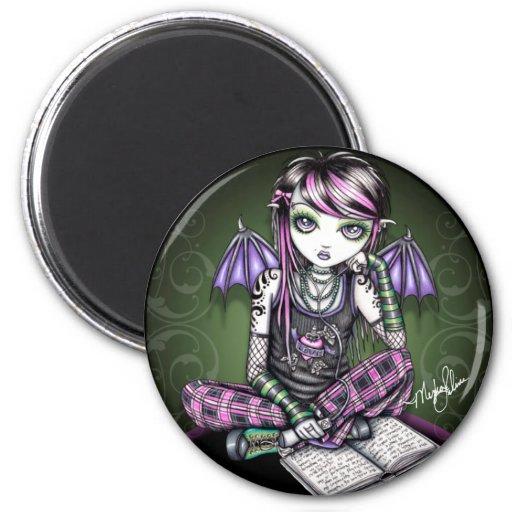 Ally Cute Emo Fairy Magnet