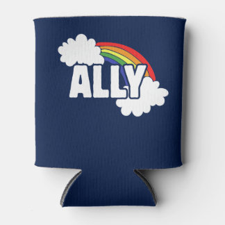 ally rainbow can cooler