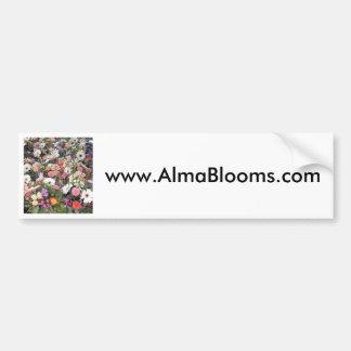 Alma Blooms 1 Bumper Sticker