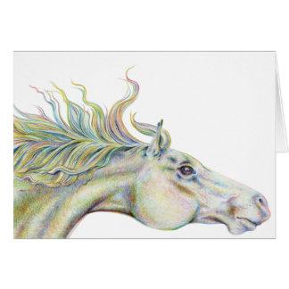 Alma (Horse) Greeting Card