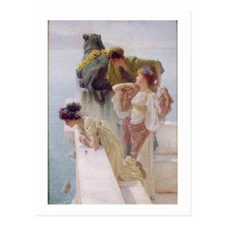 Alma-Tadema | A Coign of Vantage, 1895 Postcard