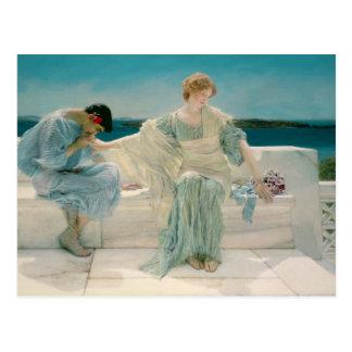 Alma-Tadema | Ask me no more, 1906 Postcard