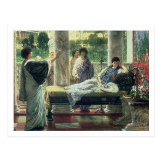 Alma-Tadema | Catullus Reading his Poems Postcard