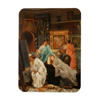 Alma-Tadema | Collector at the Time of Augustus Magnet