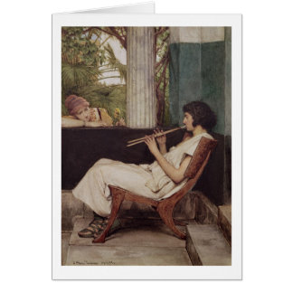 Alma-Tadema | Music Hath Charms Card