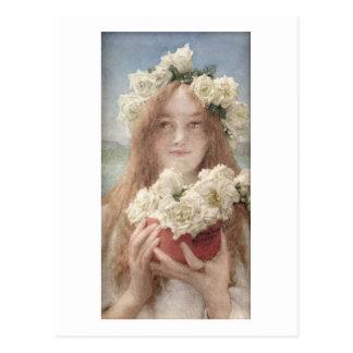 Alma-Tadema | Summer Offering, 1894 Postcard