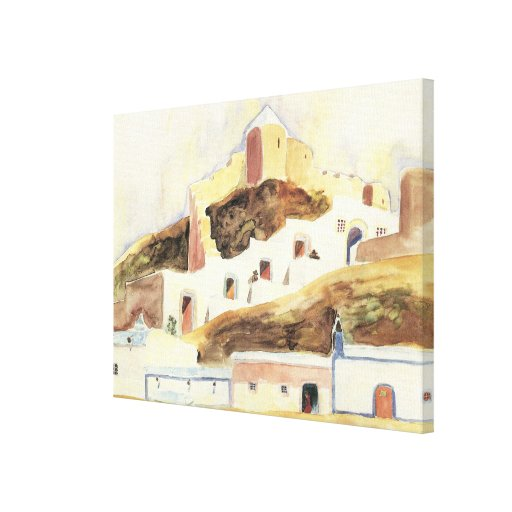 Almeria by Walter Gramatte, Vintage Expressionism Stretched Canvas Prints