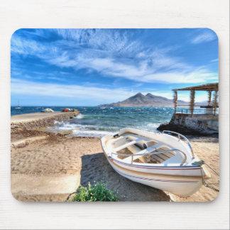 Almería, La Isleta Del Moro | Mar Mediterráneo Mouse Pad