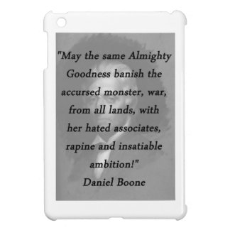 Almighty Goodness - Daniel Boone Case For The iPad Mini