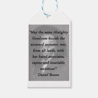 Almighty Goodness - Daniel Boone Gift Tags