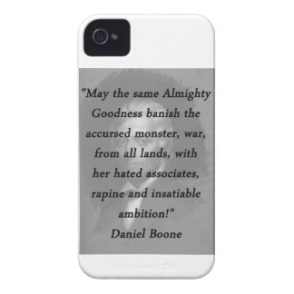 Almighty Goodness - Daniel Boone iPhone 4 Case-Mate Case