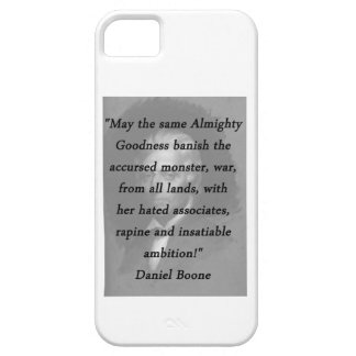 Almighty Goodness - Daniel Boone iPhone 5 Case