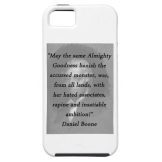 Almighty Goodness - Daniel Boone Tough iPhone 5 Case