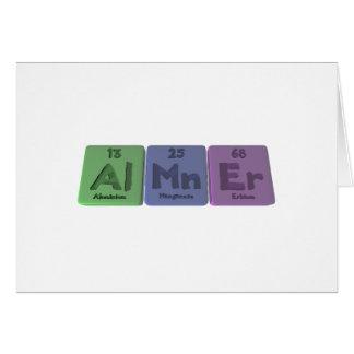 Almner-Al-Mn-Er-Aluminium-Manganese-Erbium Cards