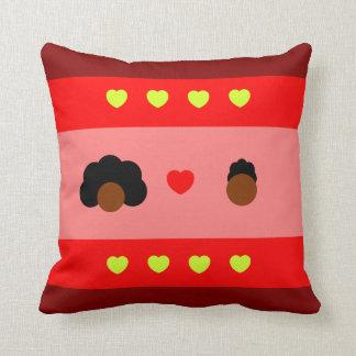 Almofada colorida Amor Preto / Pillow Black love