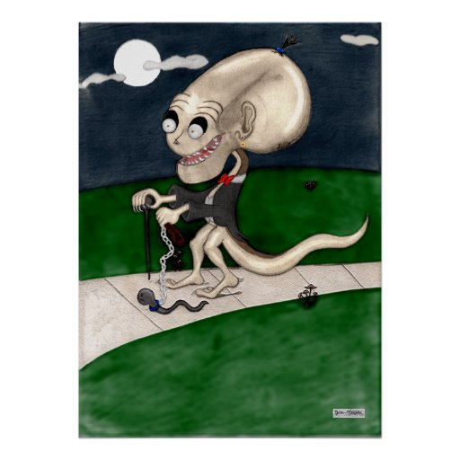 Almon The Strangeling Poster