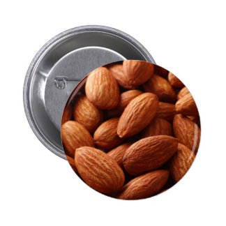 Almond 6 Cm Round Badge