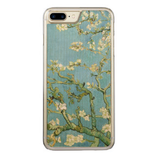 Almond Blossom Branches (F671) Van Gogh Fine Art Carved iPhone 8 Plus/7 Plus Case