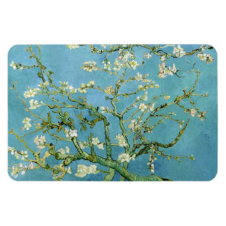 Almond Blossom Branches (F671) Van Gogh Fine Art Rectangular Photo Magnet