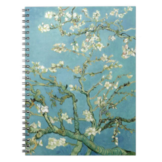 Almond Blossom by Van Gogh Spiral Notebooks