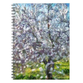 Almond Blossom Notebooks