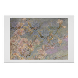 Almond Blossom Tapestry Poster