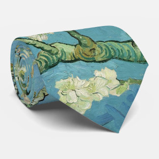 Almond Blossoms by van Gogh Tie