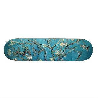 Almond Blossoms Skateboard Deck