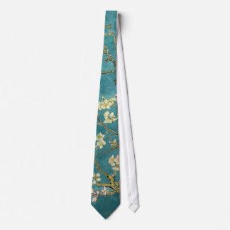 Almond Blossoms Tie