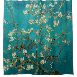 Almond Blossoms Vincent van Gogh Painting Shower Curtain