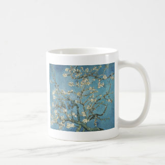 Almond branches in bloom, 1890, Vincent van Gogh Basic White Mug